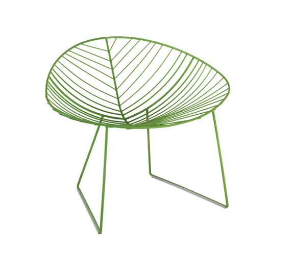 Lievore altherr molina for arper leaf designgush for Arper leaf chaise lounge