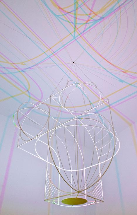 Dennis Parren: CMYK Lamp