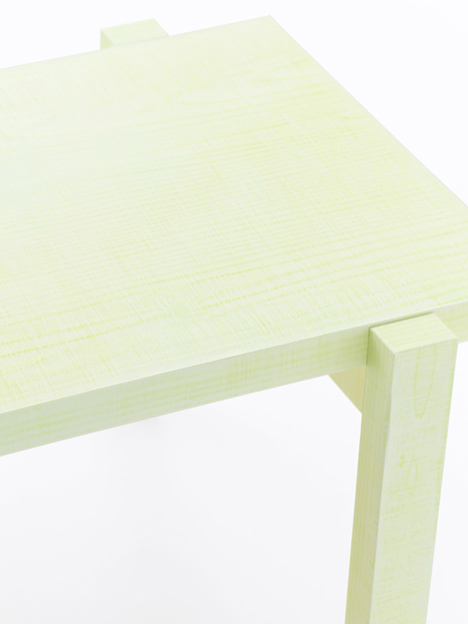 Nendo: Colored Pencil Table