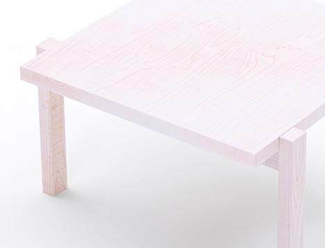 Nendo: Colored Pencil Table