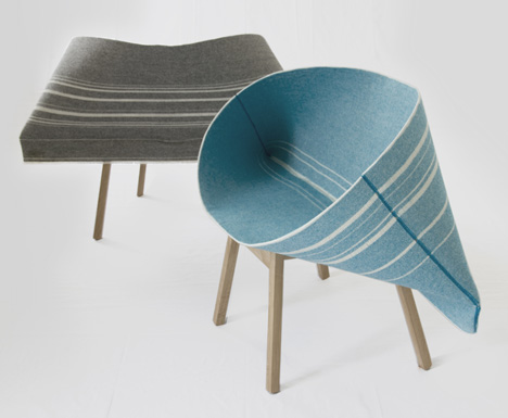 Raw Edges for Moroso: Kenny